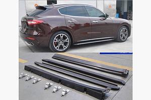 Боковые подножки OEM-V1 (2 шт) - Maserati Levante