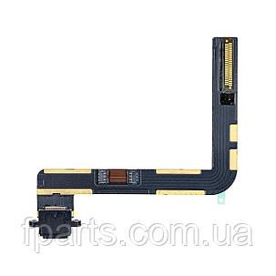 """Шлейф iPad 7 (10.2"""" / 2019) (A2197, A2198, A2200) коннектор зарядки, Black, фото 2"""