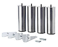 Ножки для ламельной основы 4шт сталь
