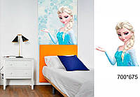 Новорічна наклейка на стіни та вікна - зимова казка