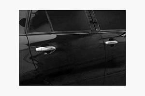 Накладки на ручки (4 шт., нерж.) - Lexus RX 2003-2009 гг.