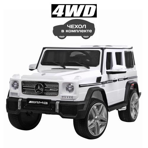 Электромобиль Bambi M 3567EBLR-1(4WD) Белый