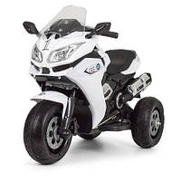 Мотоцикл Bambi M 3688EL-1 Белый