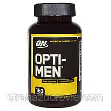 Витамины для мужчин Optimum Nutrition Opti-men 150 таб.