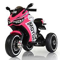 Мотоцикл Bambi M 4053L-8 Розовый