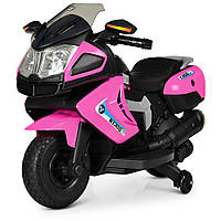 Мотоцикл Bambi M 3625EL-8 Розовый