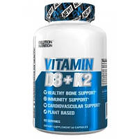 Витамин Д Evlution Nutrition VITAMIN D3+K2 60caps