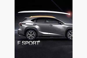 Рейлинги оригинал (2 шт) - Lexus NX