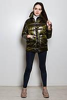 Куртка женская демисезонная Серебро хаки