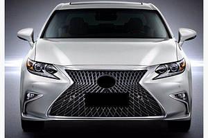 Передняя решетка (F-Sport) - Lexus ES 2018↗ гг.