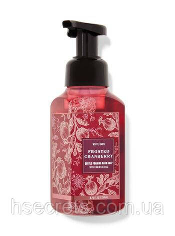 Мыло-пена для рук Bath and Body Works Frosted cranberry