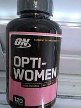 Витамины для женщин Optimum Nutrition Opti-women 120 капс.