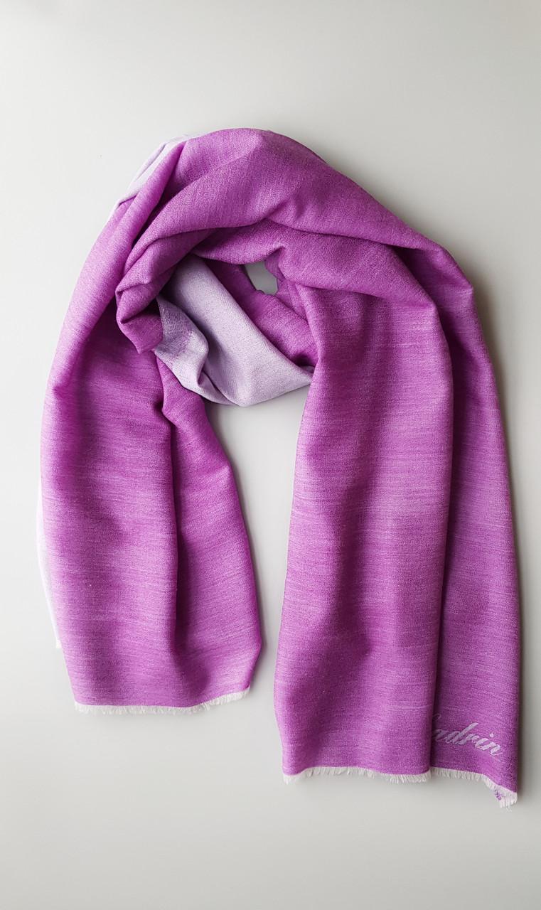 Легендарный кашемировый шарф Chadrin фиолетовый/сиреневый