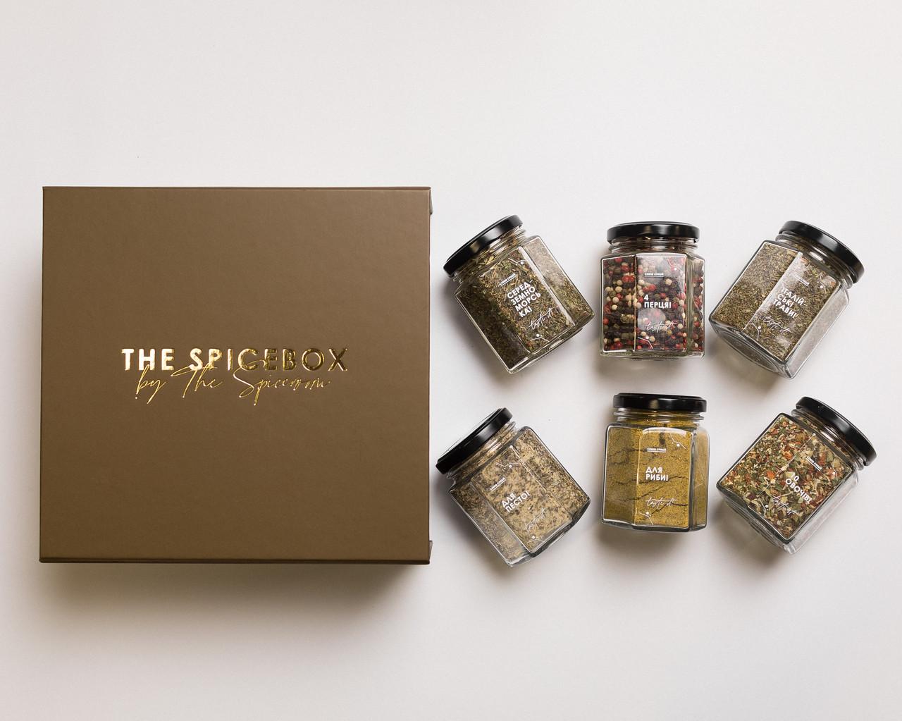 Подарочный набор The Spicebox / Премиум Spice 2 (Набор Специй)