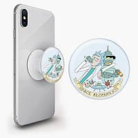Попсокет (Popsockets) тримач для смартфона Рік і Морті (Rick and Morty) (8754-2081), фото 1