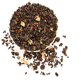 Чай зеленый с манго рассыпной листовой зеленый чай с ароматом манго 50 г