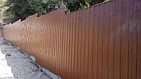 Забор из профнастила, фото 1