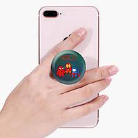 Попсокет (Popsockets) держатель для смартфона Амонг Ас (Among Us)  (8754-2431), фото 1