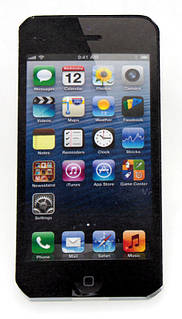 Iphone блокнот черный ( сувенир айфон )