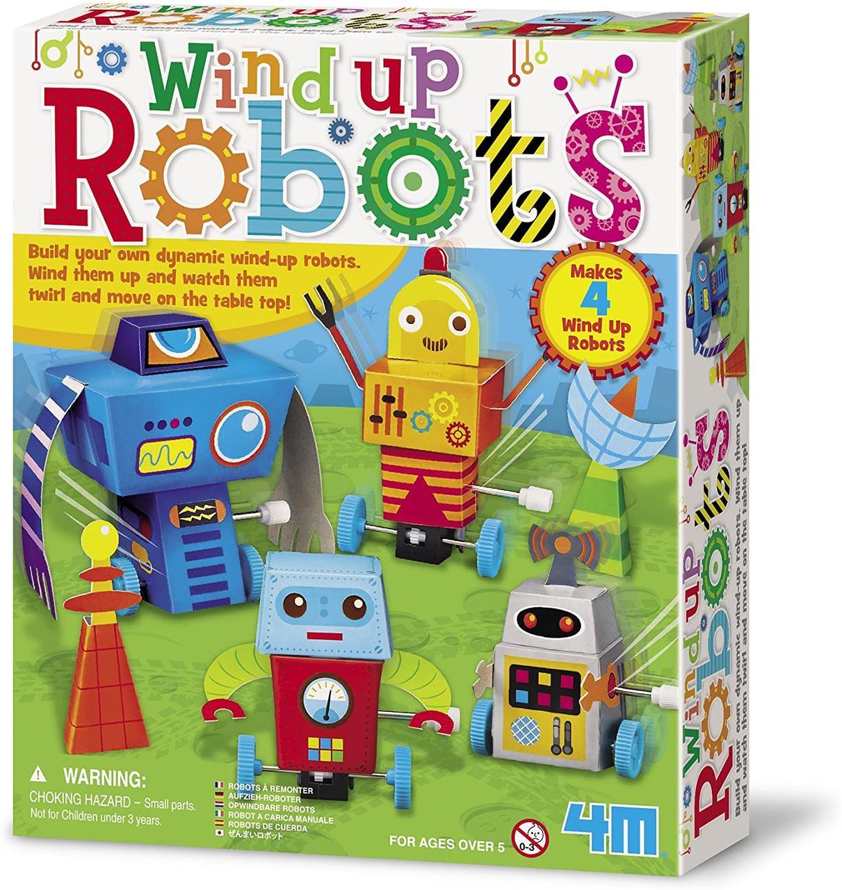 Игровой набор Заводные роботы 4M 00-04655