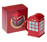 "Кружка ""LONDON"" - красная телефонная будка, фото 3"