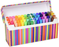 Crayola Смываемые мини маркеры 64 цвета Pip-Squeaks Kids' Marker Collection Washable Mini Markers, 64Count