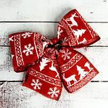 Бант рождественский красный 9239, фото 2