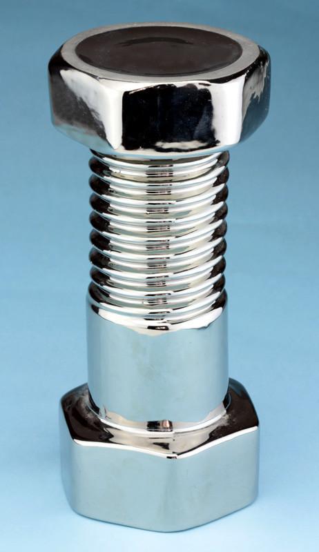 Болт с гайкой «серебро» графин штоф