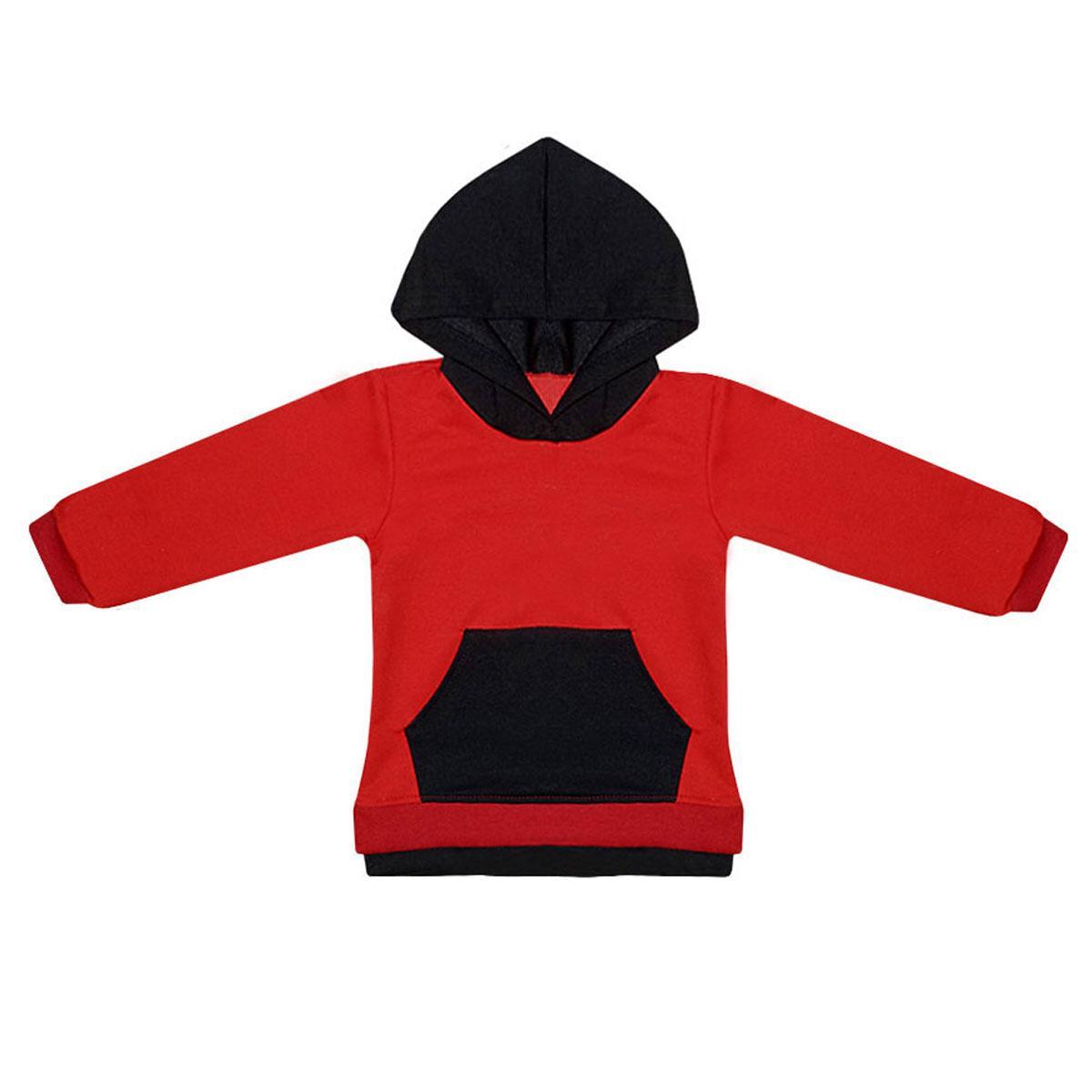 Детская спортивная кофта с капюшоном двухнитка