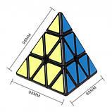 Кубик Рубика Пирамидка Мефферта карбон (черная ), фото 4