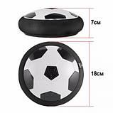 Летающий мяч музыкальный HoverBall (18см) черный, фото 2