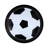 Летающий мяч музыкальный HoverBall (18см) черный, фото 3