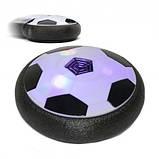 Летающий мяч музыкальный HoverBall (18см) черный, фото 6