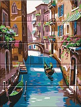 "Картины по номерам на дереве 30*40 ""Венеция"" №040, ArtStory"