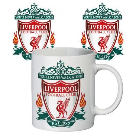 Чашка с принтом 65403 ФК Ливерпуль