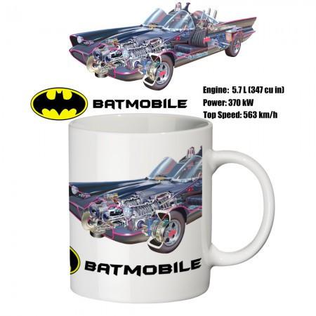 Чашка с принтом 65506 Бэтмобиль