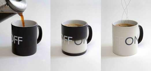 Чашка с терморисунком ON OFF ( Кружка он офф хамелеон )