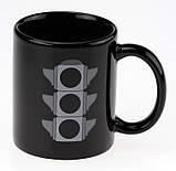 Чашка с терморисунком Светофор ( хамелеон ), фото 2