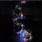 Гирлянда новогодняя на медной проволоке Xmas «Конский хвост» 2 м светодиодная led, фото 4