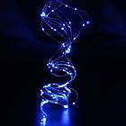 Гирлянда новогодняя на медной проволоке Xmas «Конский хвост» 2 м светодиодная led, фото 3