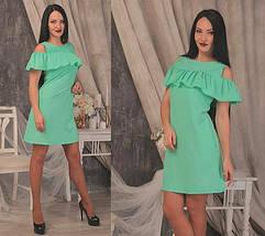 Платье с воланом воздушное мини, фото 3