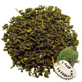 Чай саусеп зеленый, зеленый с экстрактом саусепа рассыпной листовой  Саусеп 50 г