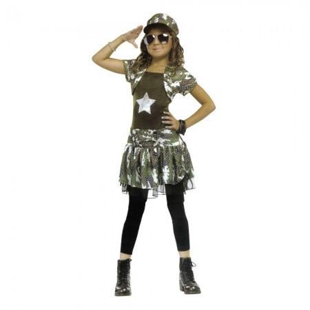 Маскарадный костюм Солдатка (размер 10-12 лет)