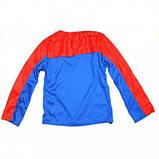 Маскарадный костюм Спайдермен синий (размер S), фото 3