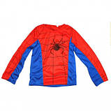 Маскарадный костюм Спайдермен синий (размер М), фото 2