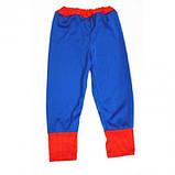 Маскарадный костюм Спайдермен синий (размер М), фото 4