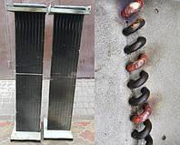 Ремонт теплообменника на тепловую завесу