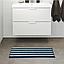 ТОФТБУ Коврик для ванной, синий/разноцветный, 50х80, 00467588, IKEA, ИКЕА, TOFTBO, фото 2