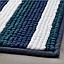 ТОФТБУ Коврик для ванной, синий/разноцветный, 50х80, 00467588, IKEA, ИКЕА, TOFTBO, фото 3