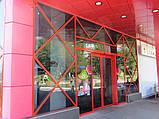 Стоечно-ригельная система остекления фасада KMD F50, фото 3